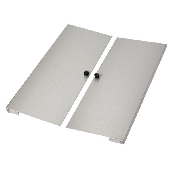 Set 3 Stainless Steel Door