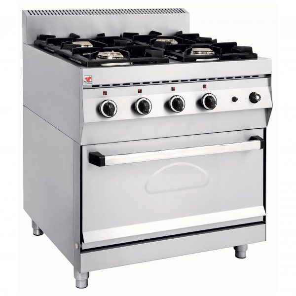 FGASE400 Κουζίνα Υγραερίου με Φούρνο