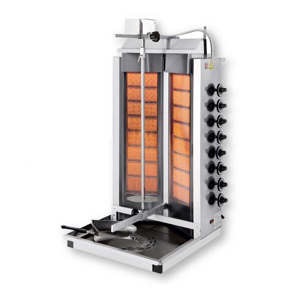 DG110 Γύρος Υγραερίου με Διπλούς Καυστήρες