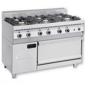 FGASE600 Κουζίνα Υγραερίου με Φούρνο